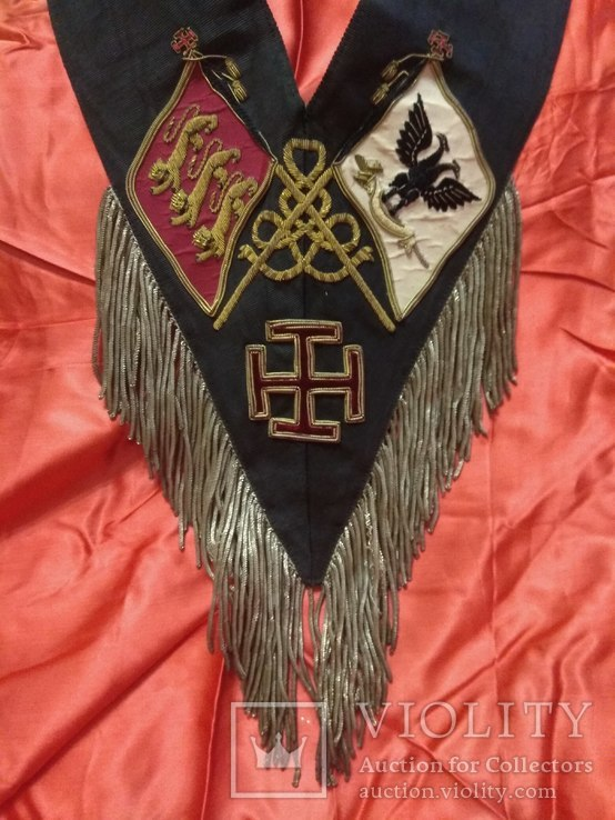 Масонская лента Рыцаря Кадош - 30-й градус Шотландского Устава, фото №5