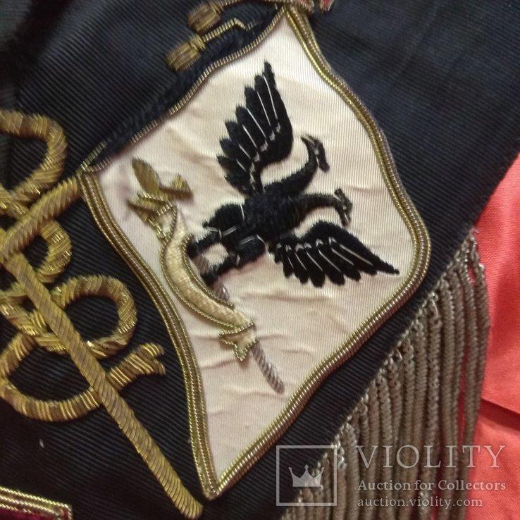 Масонская лента Рыцаря Кадош - 30-й градус Шотландского Устава, фото №11