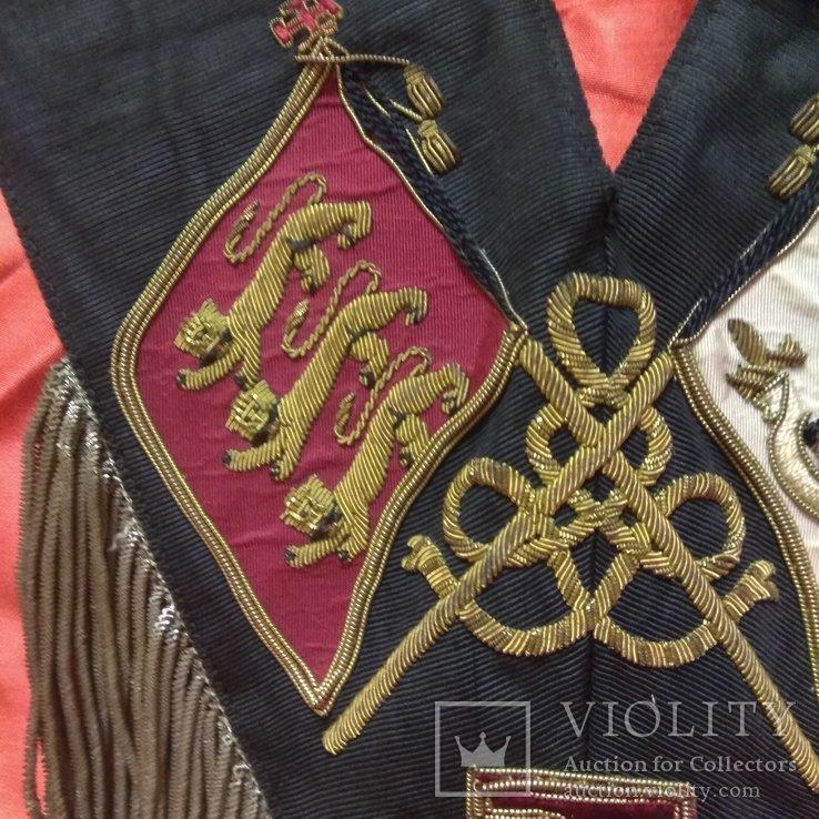 Масонская лента Рыцаря Кадош - 30-й градус Шотландского Устава, фото №12