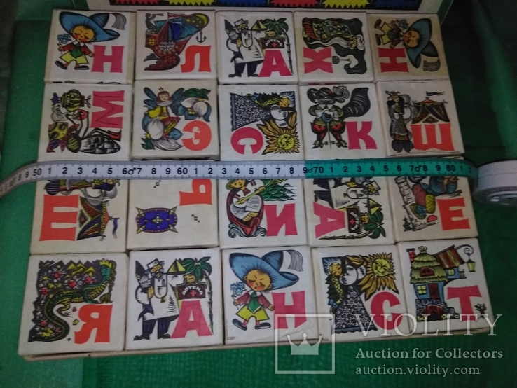 Сказочные кубики Азбука 70х, фото №7