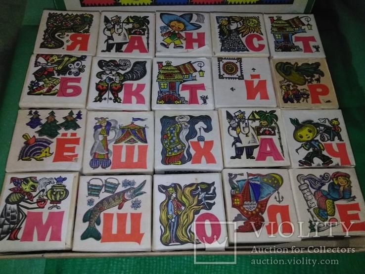 Сказочные кубики Азбука 70х, фото №13