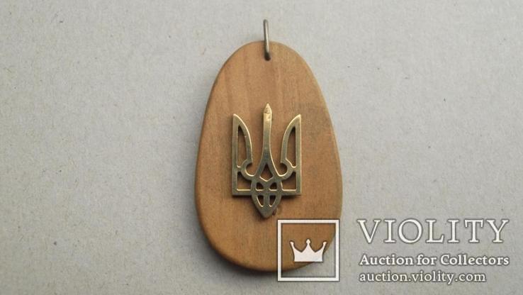 Подвес (кулон, брелок) Герб України, фото №5