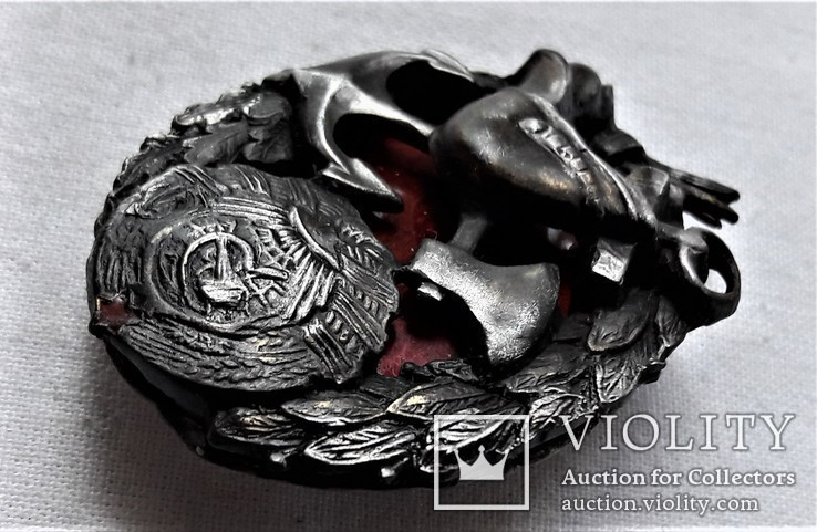 Знак Пожарного на железных дорогах НКВД, копия, 1920гг, №0012, фото №11