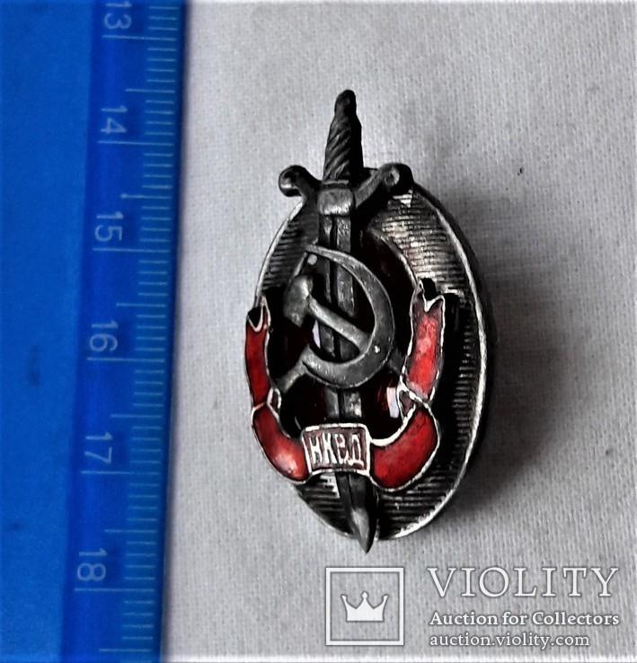 Знак Заслуженный работник НКВД, копия, №2047, 1940-46гг, фото №3