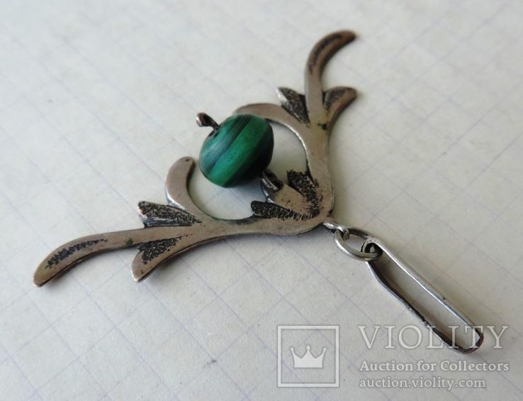 Кулон серебро 84 пр (700, фото №6
