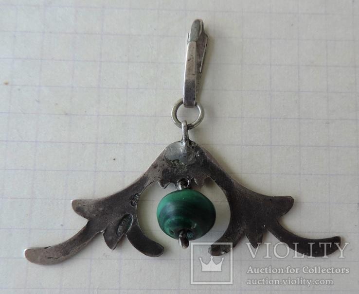 Кулон серебро 84 пр (700, фото №11