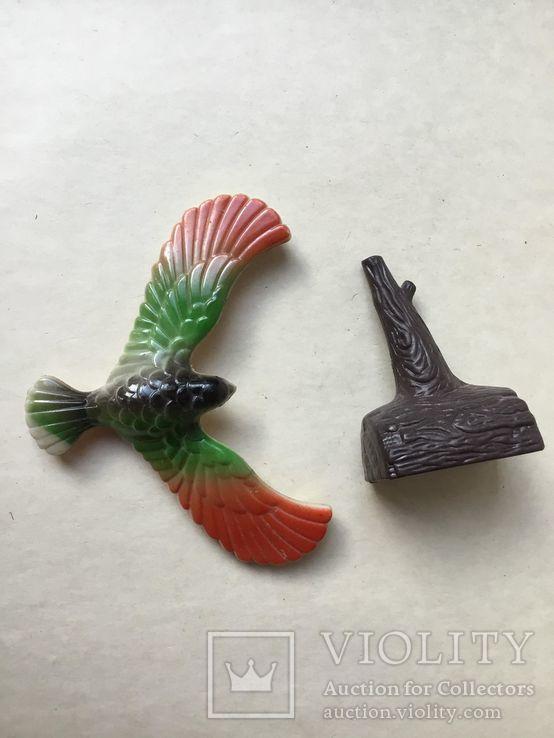 Парящий  орел, балансирующая птица на клюве, отличная научная игрушка., фото №3