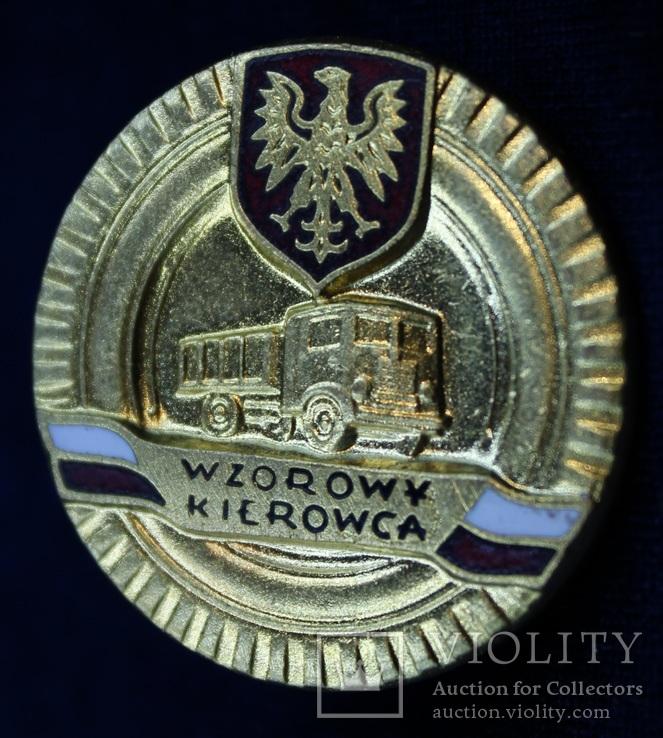 Польша. Отличный водитель. Золотая степень., фото №2