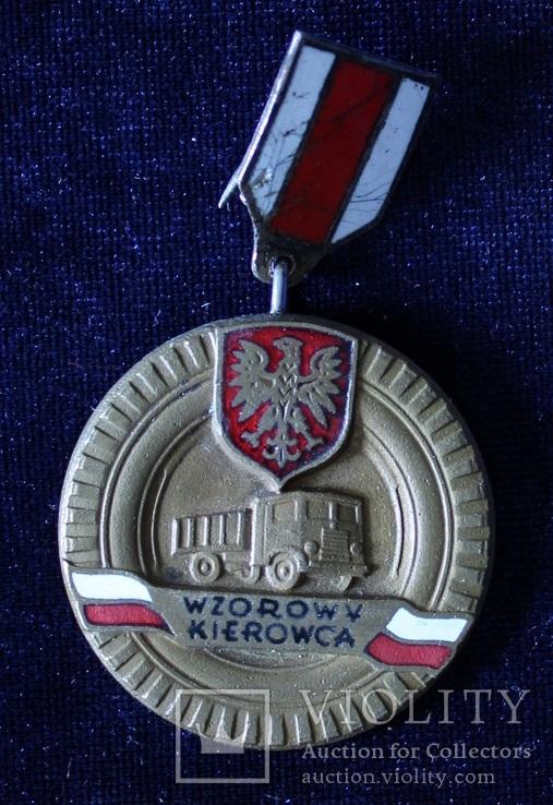 Польша. Отличный водитель. Бронзовая степень., фото №2