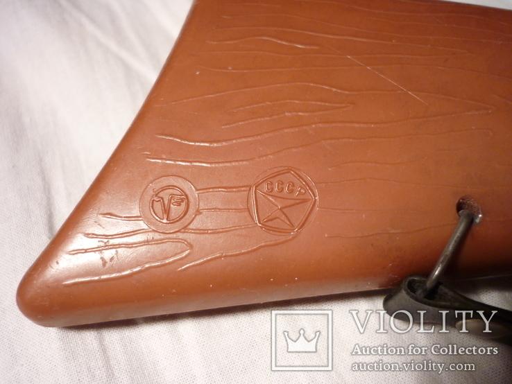 Детское духовое ружье двухстволка СССР клейма + знак качества, фото №6
