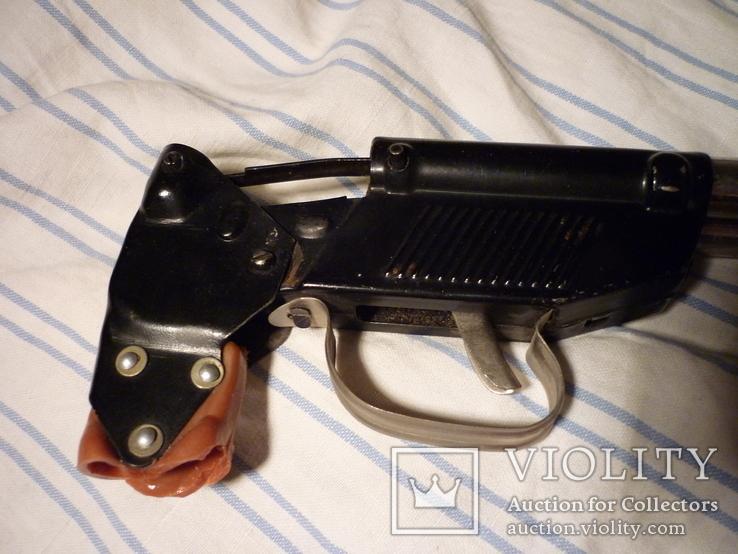 Детское духовое ружье двухстволка СССР клейма + знак качества, фото №12