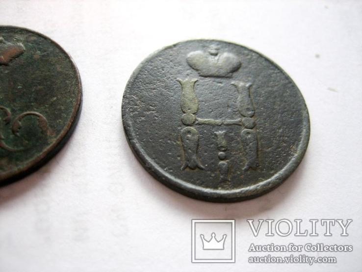 1 коп. 1855 рік. (2 штуки, різні вензеля царів), фото №5
