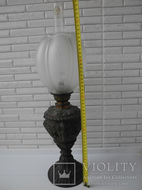 Керосиновая гасовая лампа Kosmos Ditmar ( Германия , Клейма ), фото №9