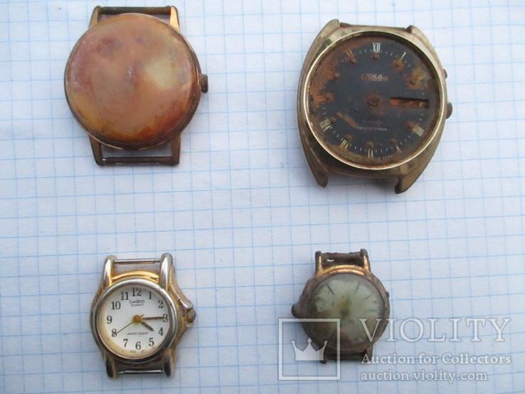 Часы позолота (три штуки), читаем комментарии, фото №2