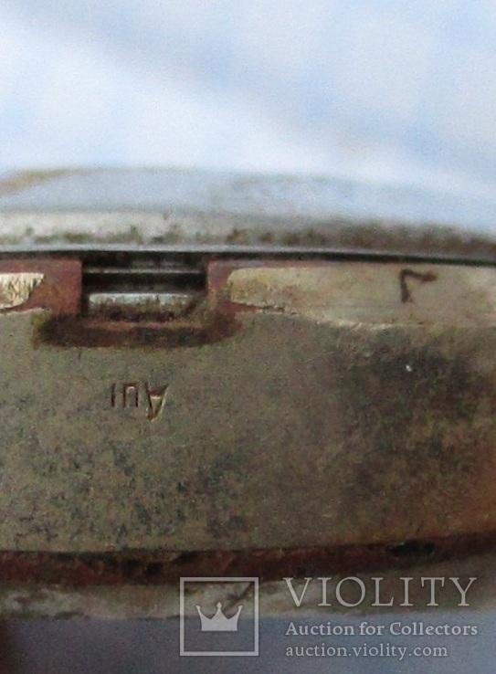 Часы позолота (три штуки), читаем комментарии, фото №5