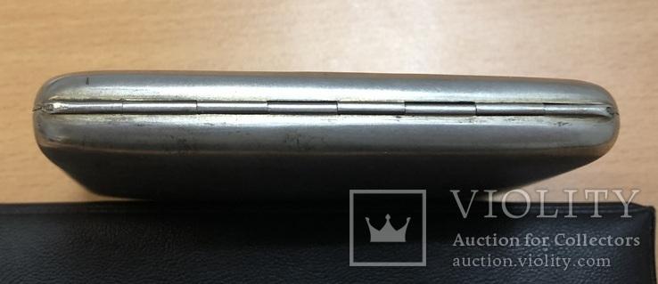 Серебряный портсигар 875 пробы, фото №6