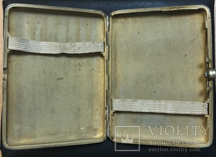 Серебряный портсигар 875 пробы, фото №8