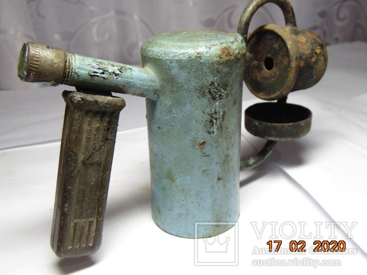 Маленькая паяльная лампа   ЛП - 0,2, фото №8