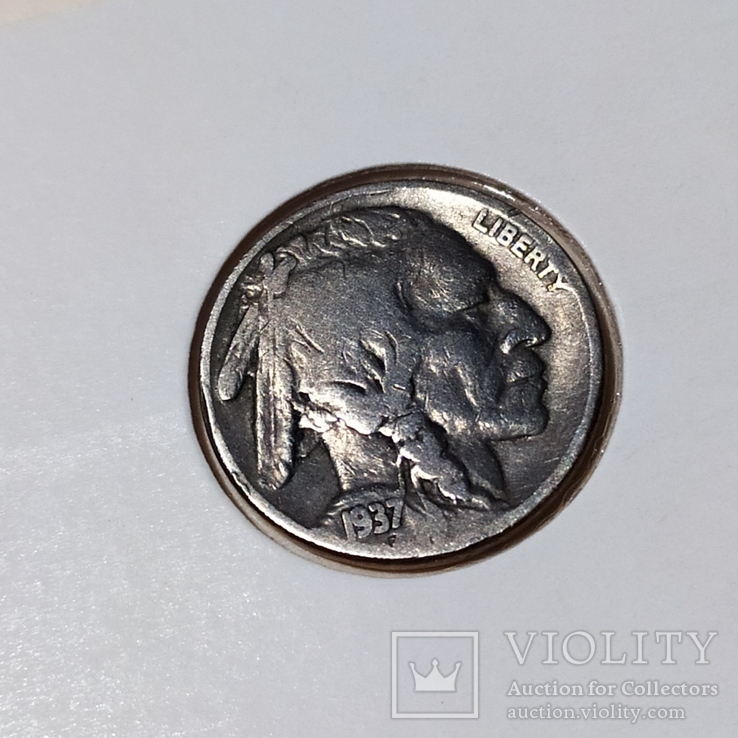 5 центов 1937 год, фото №2