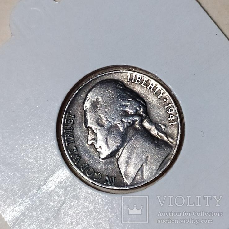 5 центов 1941 год, фото №2
