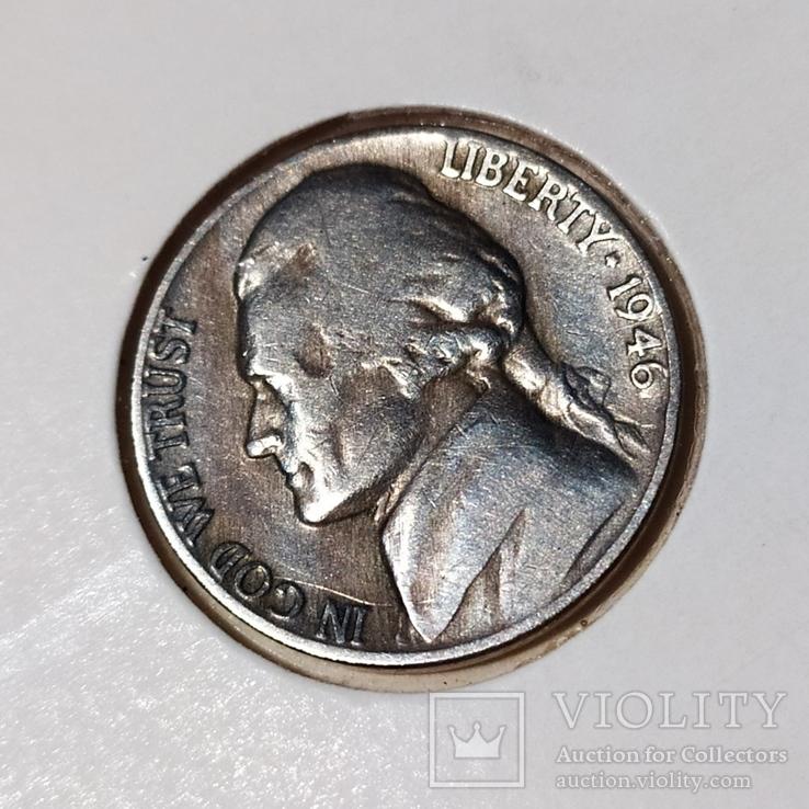 5 центов 1946 год, фото №2