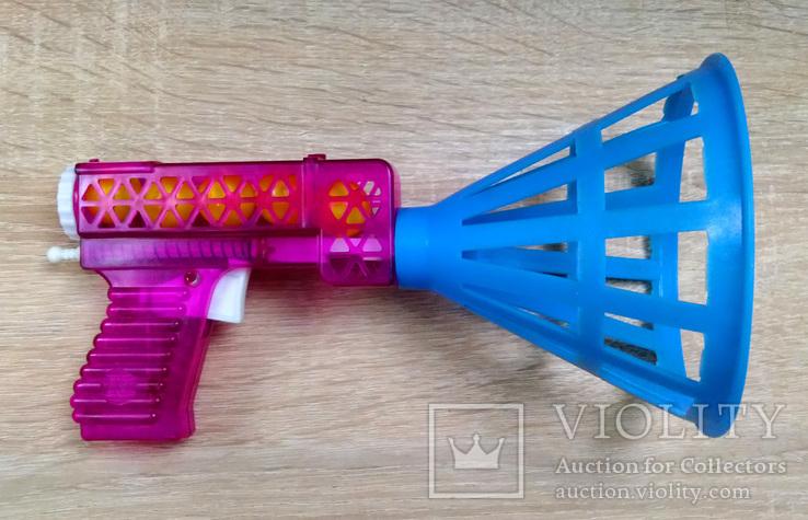 Игрушка пистолет  с шариками корзинка, СССР., фото №2