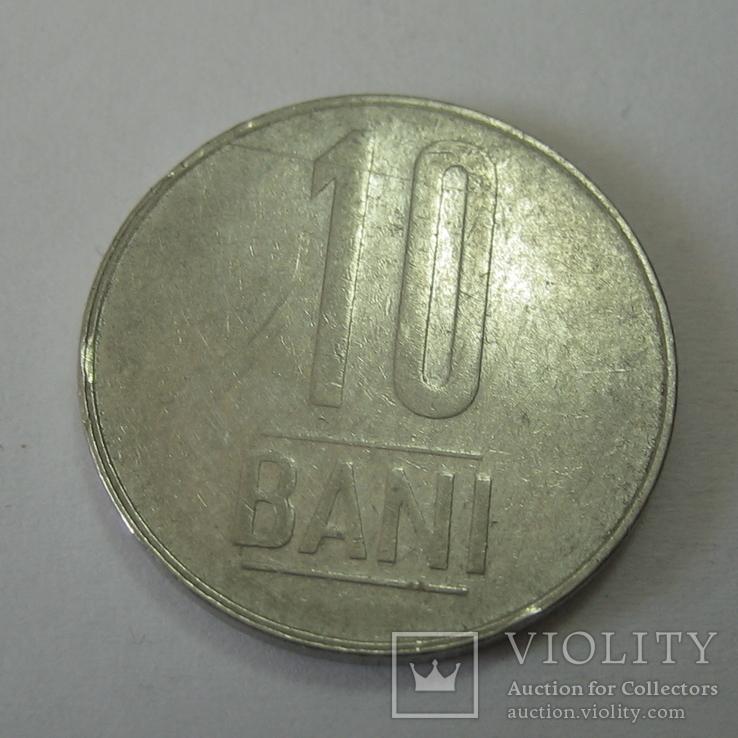 Румыния 10 бани 2008 год., фото №4