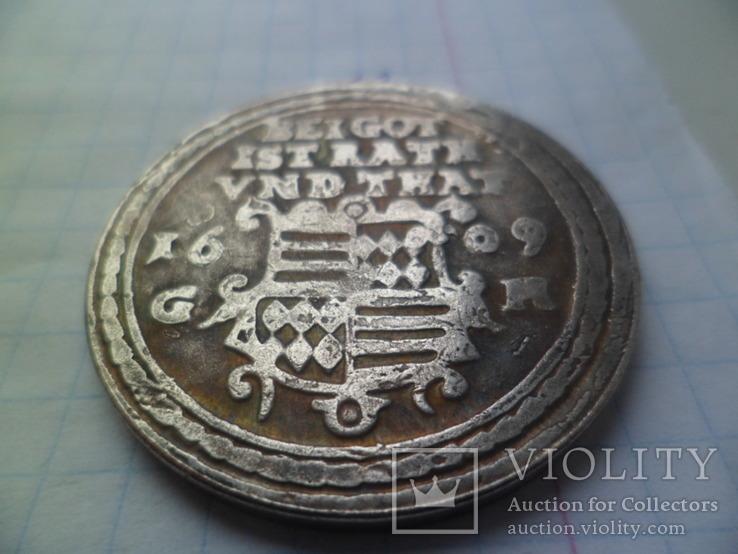 1 талер 1609 рік копія, фото №3