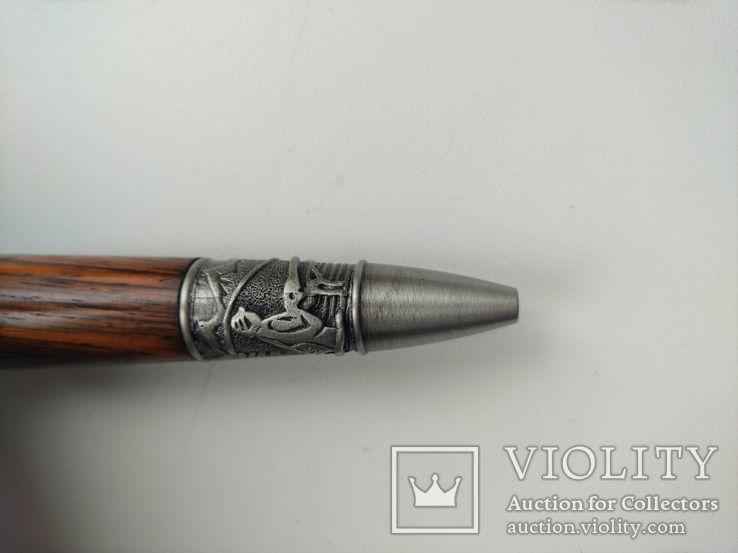 Ручка шариковая ручной работы Рыбацкая, фото №4
