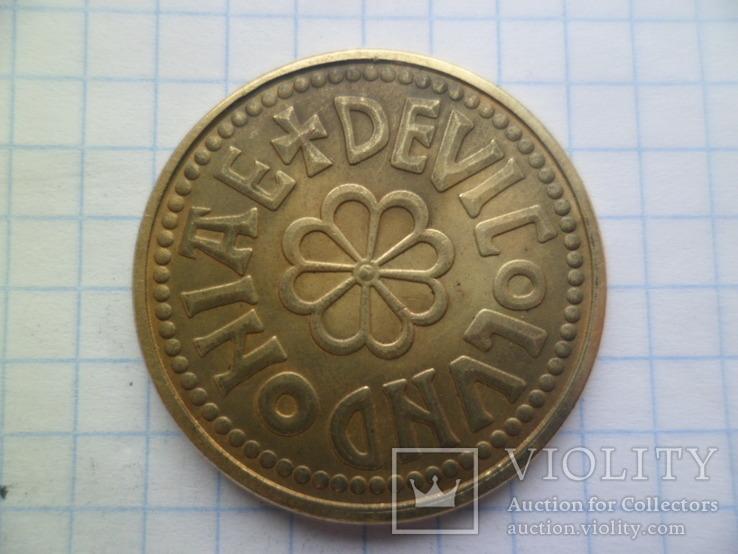 Копія золотої монети копія, фото №4