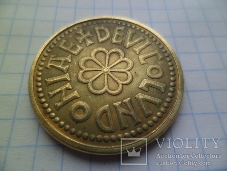 Копія золотої монети копія, фото №5