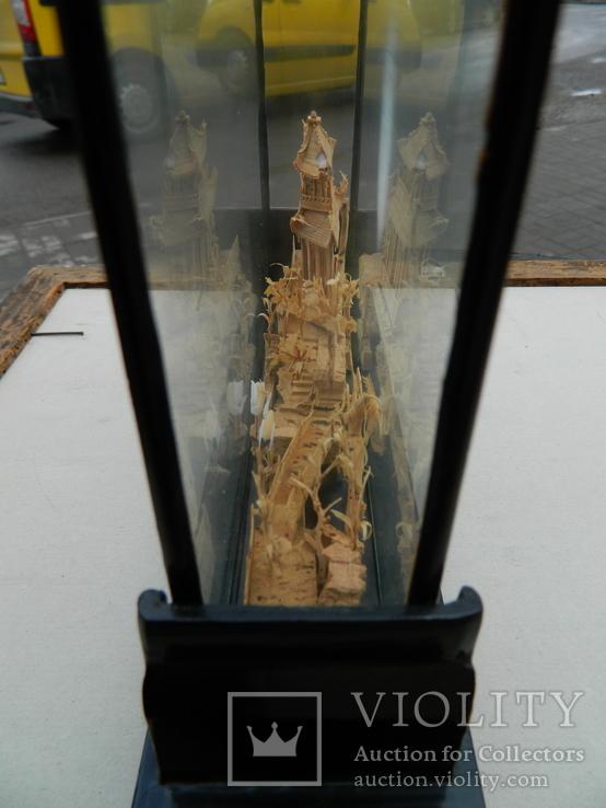 Пано - діорама китайська мініатюра, ручна робота ( коркове дерево ), фото №12