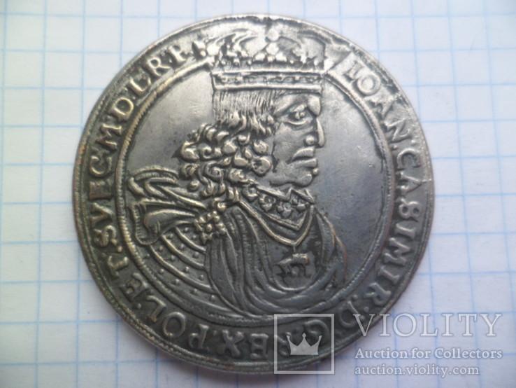 Талер 1661 рік копія, фото №2