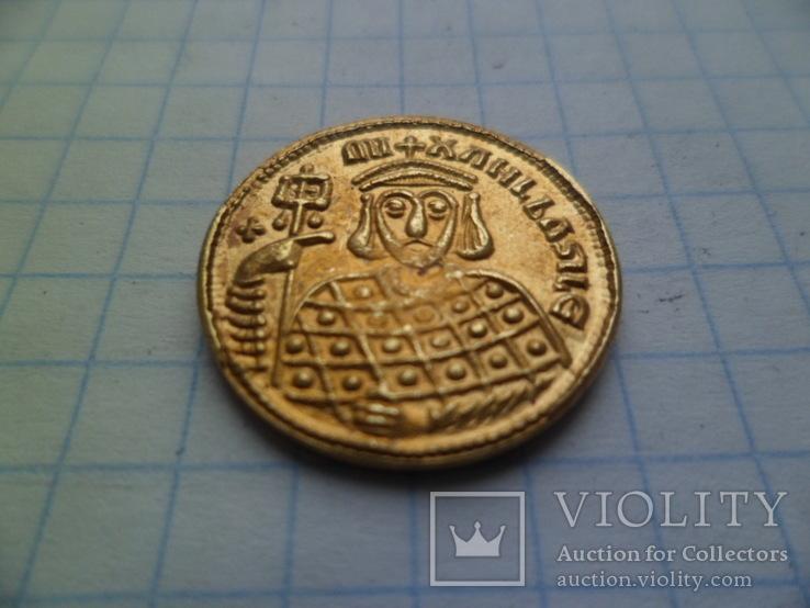 Золота монета копія, фото №3