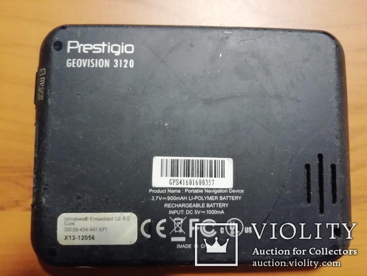 Навигатор GPS Prestigio GeoVision 3120, фото №4