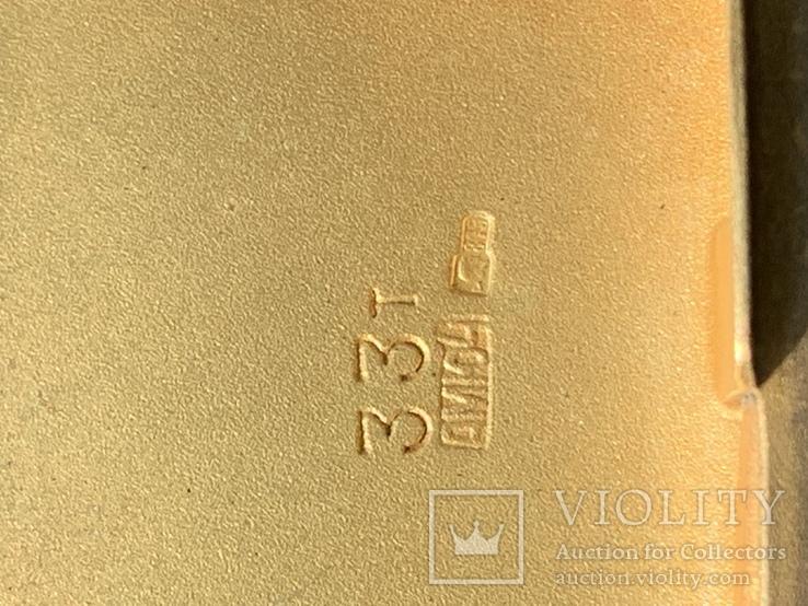 Портсигар 875 пробы, фото №6
