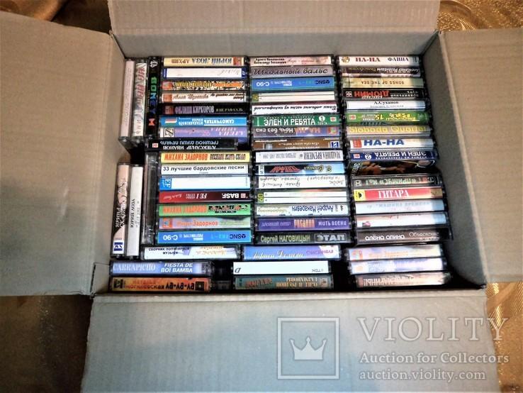 Мега лот аудиокассет., фото №2