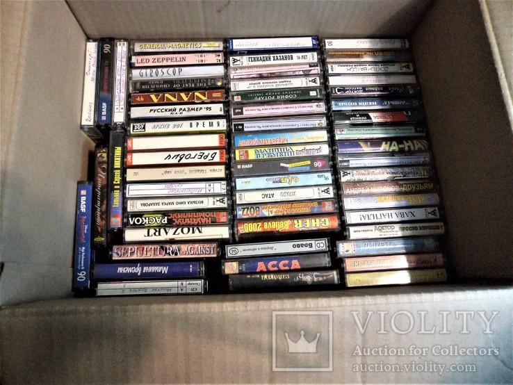 Мега лот аудиокассет., фото №3