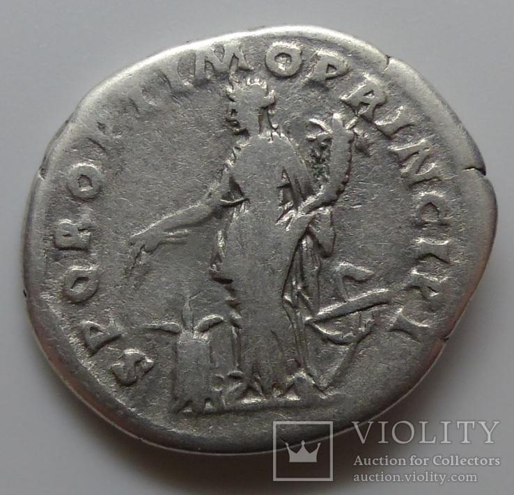16) Денарий Траян, фото №3