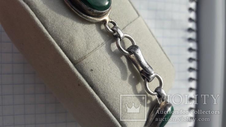 Браслет серебро, фото №5