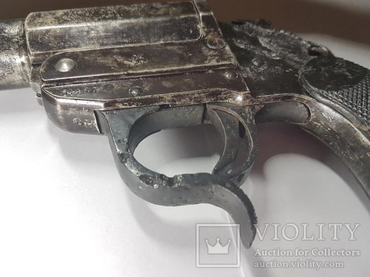 3 Рейх. Ракетница LP-34. 1941 г. Клейма, фото №5
