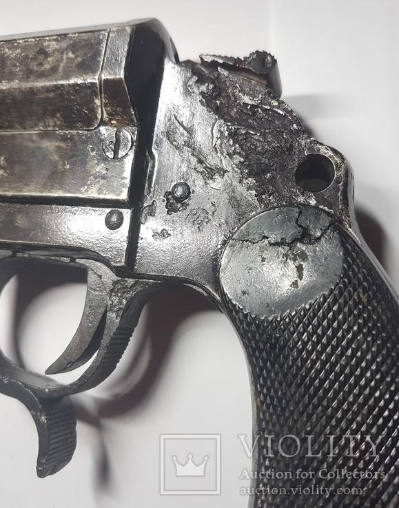 3 Рейх. Ракетница LP-34. 1941 г. Клейма, фото №8