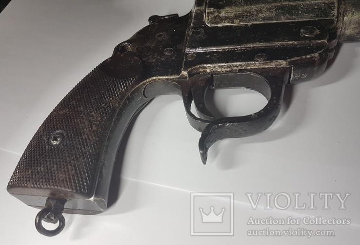 3 Рейх. Ракетница LP-34. 1941 г. Клейма, фото №10