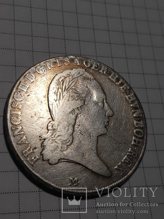 Талер 1796 М, Австрия, Франциск II, Серебро, фото №9