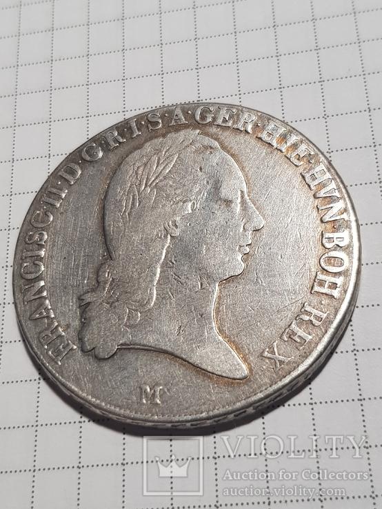 Талер 1796 М, Австрия, Франциск II, Серебро, фото №10