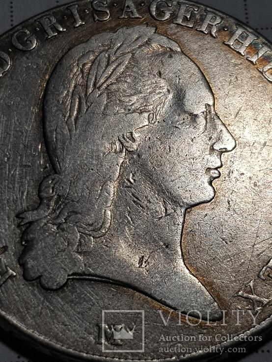 Талер 1796 М, Австрия, Франциск II, Серебро, фото №11