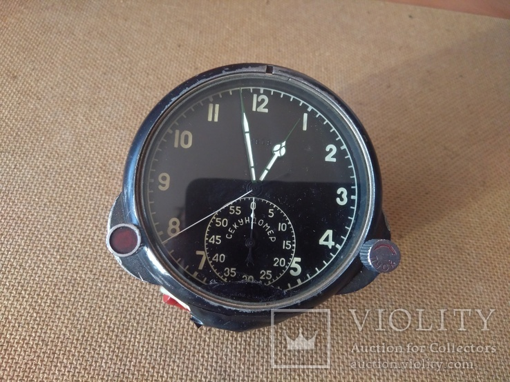 Часы авиационные полётные 60 ЧП СССР