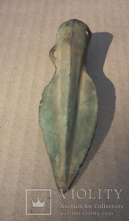 Бронзовый наконечник копья - дротика., фото №5