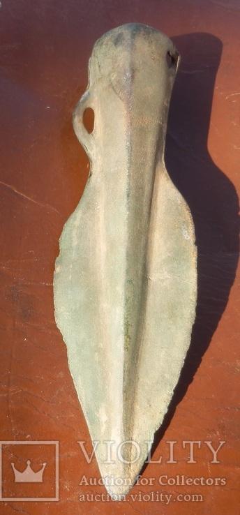 Бронзовый наконечник копья - дротика., фото №9