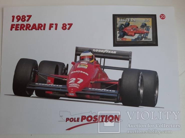 Марка FERRARI  F1 87, фото №2